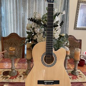 natural fever classic acoustic guitar for Sale in Downey, CA