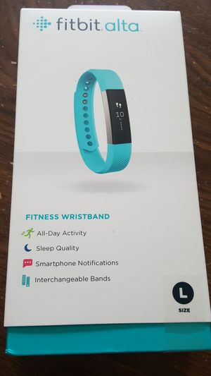 fitbit alta blue - fitness Wristband ( brand New, unopened box ) for Sale in Saint Louis Park, MN