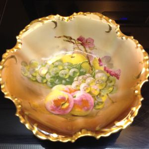 "Royal Munich China antique fruit bowl 12"" - beautiful detail for Sale in Cape Coral, FL"