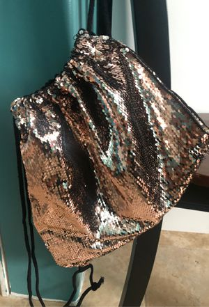 Rose Gold Sequin Backpack - Large for Sale in Los Angeles, CA