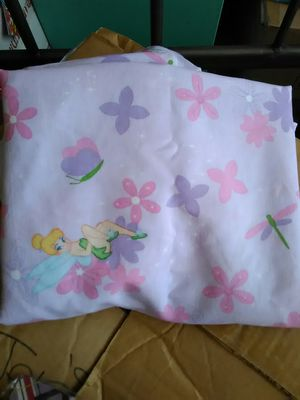 Tinkerbell top sheet for twin bed for Sale in Marysville, CA