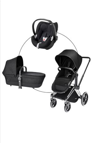 Cybex Priam 2-in-1 Light Seat Stroller and Cybex Cloud Q Plus Infant Car Seat for Sale in Vancouver, WA