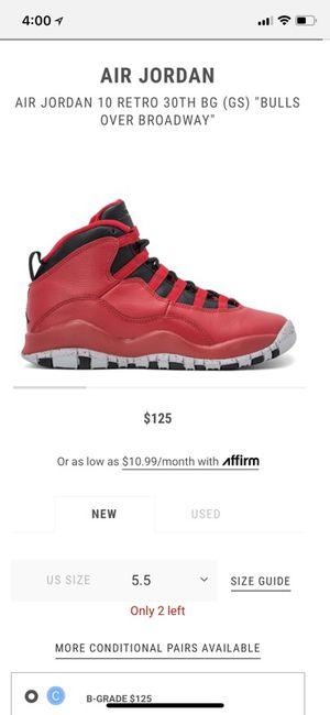 "Air Jordan 10 Retro 30th ""Bulls Over Broadway"" for Sale in Orlando, FL"