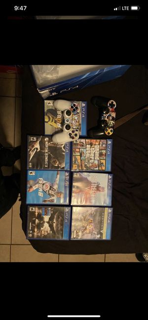 PS4 Games and Controllers for Sale in Vernon, CA