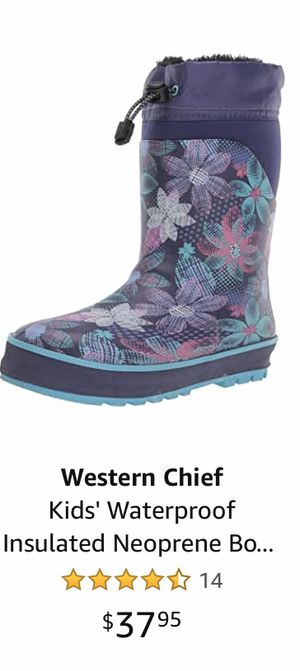 Girls Sz 2/3 Western Chief Boots for Sale in Tacoma, WA