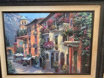 Oil Painting 5ft Wide for Sale in Cypress,  TX