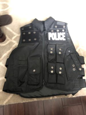 Paintball vest with police tags for Sale in Joplin, MO