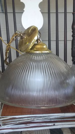 Glass Hanging Lamp for Sale in San Antonio, TX