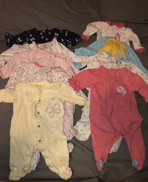 Newborn Baby Girl's clothes for Sale in Riverside, CA