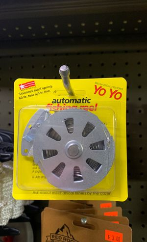 AUTOMATIC YO YO FISHING REEL for Sale in Cibolo, TX