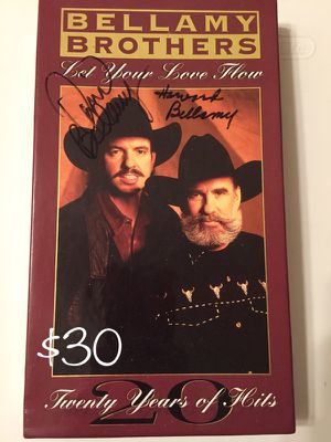 Autographed Bellamy brothers cd set for Sale in Wichita, KS