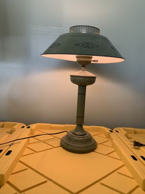 Lamp and tables metal for Sale in Sanger, CA