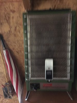 Coleman propane catalytic heater for Sale in Stewartville, MN