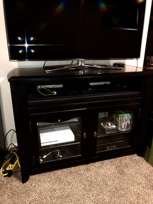Black TV stand for Sale in Seattle, WA