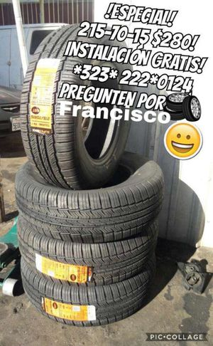 Tires/llantae for Sale in Los Angeles, CA