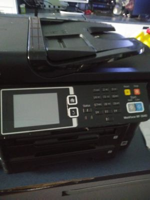 Epson WorkForce 3640 color printer works great no issues Wi-Fi will travel for Sale in Lakewood, CA