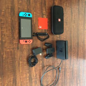 Nintendo Switch with carrier case and all cables for Sale in Hollywood, FL