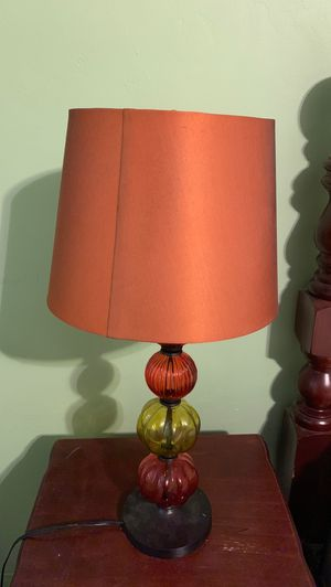 Fall themed lamp for Sale in Pembroke Pines, FL