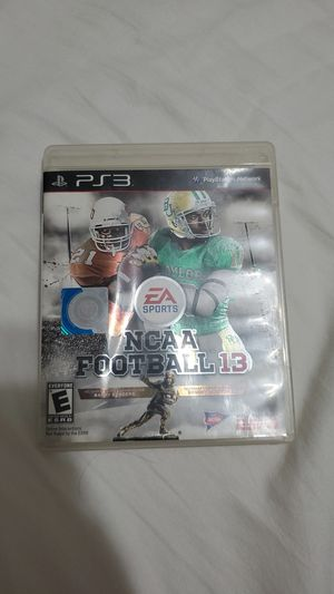 Ncaa football 13 for ps3 for Sale in Tuscaloosa, AL