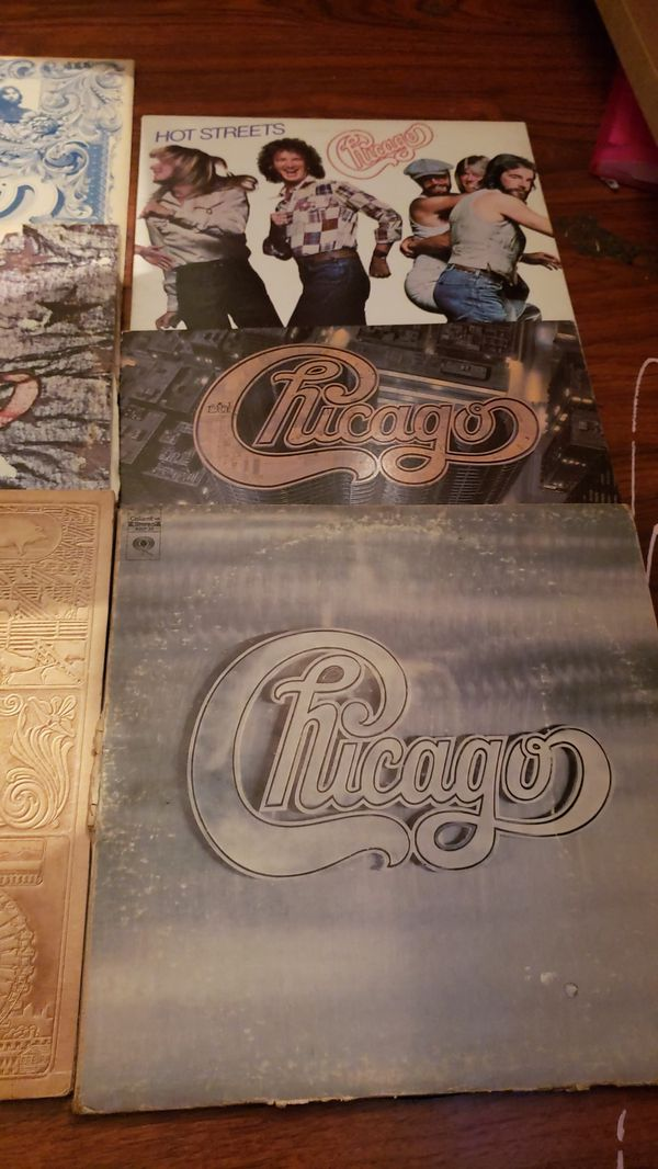 Chicago lp collection