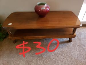 Solid wood coffee table for Sale in Huntington Beach, CA