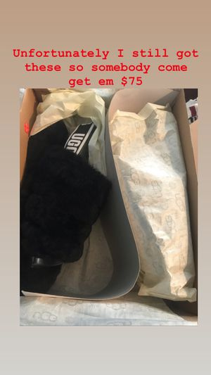 Ugg slides size 7 for Sale in Washington, DC