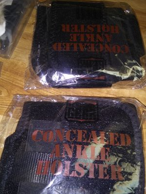 Conceal Carry 2 ankle HOLSTERS and 2 waist available for Sale in Bangor, ME
