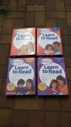 Hooked on Phonics Pre-K and K reading sets for Sale in Seattle, WA