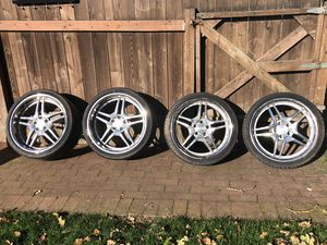 Staggered Wheels - Roderick RW2 19x8.5 20x10 5x114.3 for Sale in Tacoma, WA