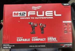 Brand New! Unopened! Milwaukee M12 FUEL 12-Volt Lithium-Ion Brushless Cordless Combo Kit! for Sale in Augusta, GA
