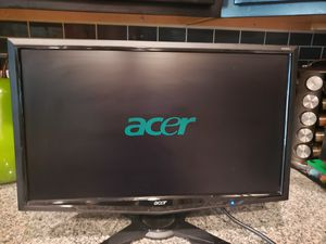 "Lightly Used Acer 23"" Widescreen Flat Panel LCD Monitor for Sale in Federal Way, WA"
