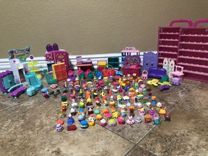 Shopkins toy lot- over 130 shopkins for Sale in Burleson, TX