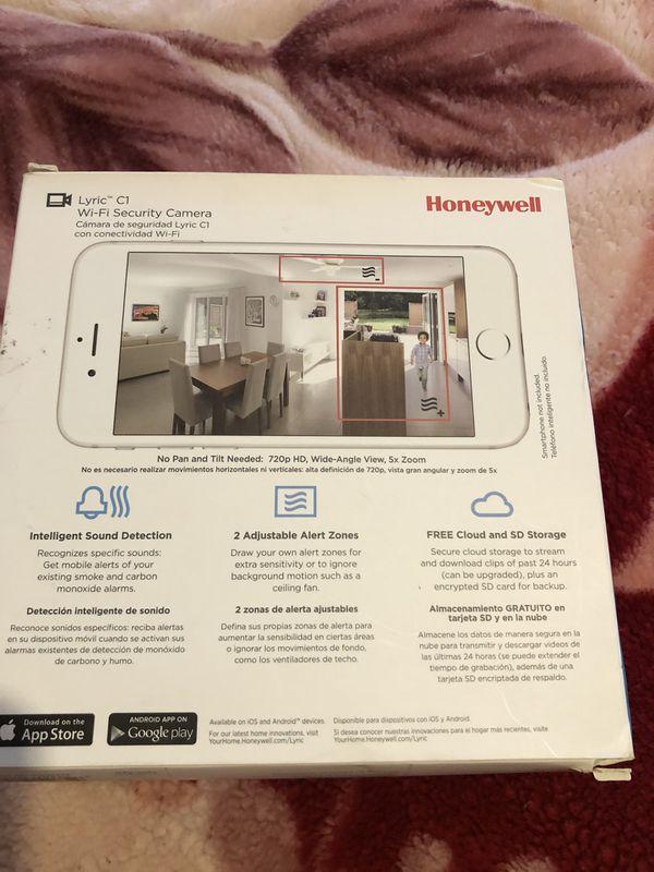 Honeywell 720p C1 WiFi security camera