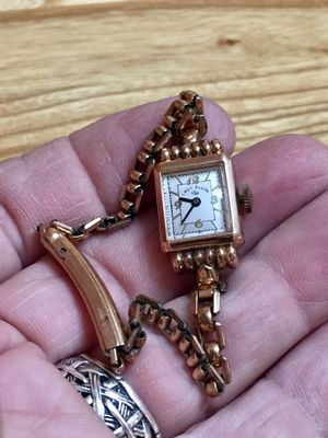 Vintage Lady Elgin Watch 19 Jewel Gold Filled - Needs Cleaning & Overhaul for Sale in Scottsdale, AZ