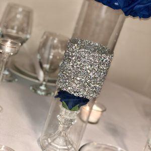 Handmade Glass Royal Blue Centerpiece for Sale in Sandy, UT