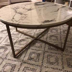 Faux Marble Coffee Table for Sale in Fircrest, WA