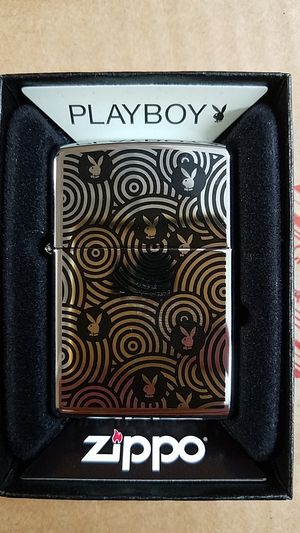 Zippo playboy high polished chrome 28075 for Sale in Los Angeles, CA