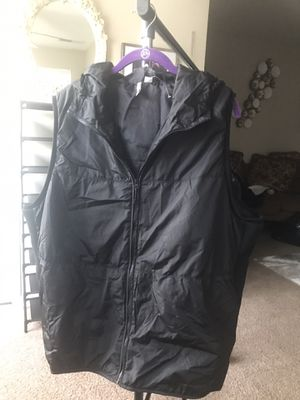 Plus Size Black Hooded Active Vest for Sale in Morrow, GA