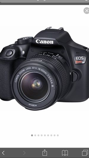 Canon rebel t6 eos for Sale in Manchester, CT
