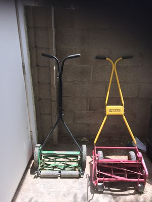 Push lawn mowers 1 for $20 or 2 for 30 for Sale in Las Vegas, NV