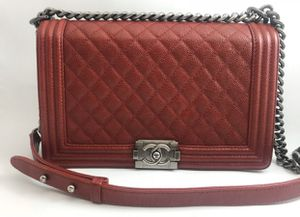 PRICE IS 2500(!) Red Chanel boy bag for Sale in Beverly Hills, CA