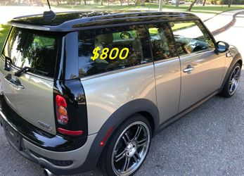 🙏❤$8OO For sale URGENTLY 2009 Mini Cooper S turbo 3-Door Super cute and clean in and out !!🙏💝 for Sale in Portland,  OR