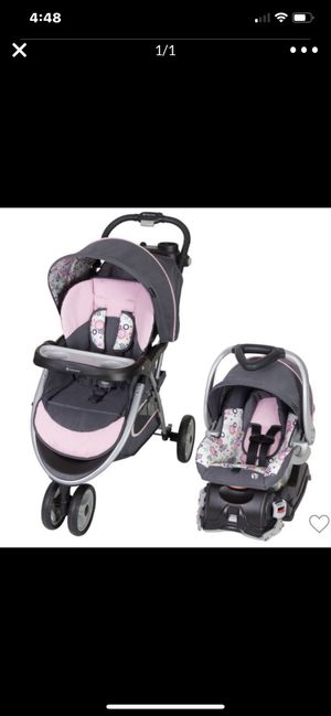 Stroller and car seat set $100 for both price is firm don't message me if y for Sale in Fort Myers, FL