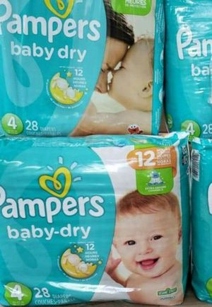 Diapers pampers size 4 $6 each bags for Sale in Dallas, TX