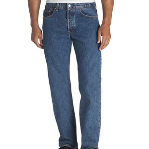 Levi's (Brand New) Men's 501 Straight Leg Button Fly Jeans 29x30 for Sale in Azusa, CA