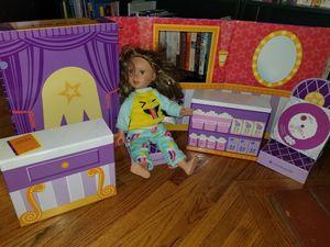 American Girl Theater & 2 My Generation Dolls for Sale in La Mirada, CA