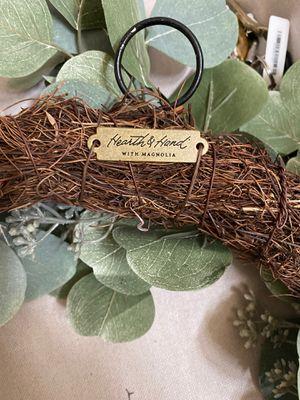 Hearth & Hand Magnolia Wreath for Sale in Tumwater, WA