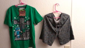 Minecraft pj new size 8/9 $6.00 a set for Sale in Minot, ND