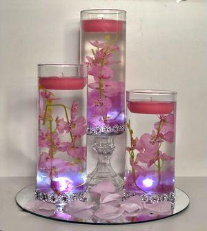 5 Set Cylinder Wedding Centerpiece for Sale in Oak Lawn, IL