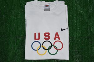 ac3625a581 Vintage Nike T shirt Olympic Softball Tryouts Size Large for Sale in  Stockton